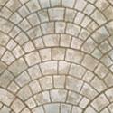 Fan Decorative Concrete Stamp