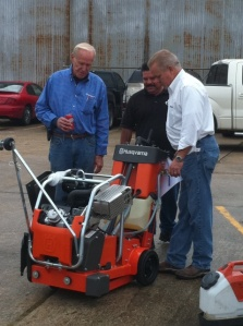 Looking at New Husqvarna Equipment