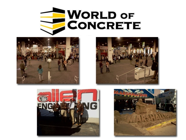 World of Concrete 2012