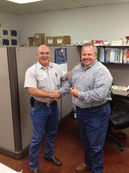 CMC Construction Services Northwest Houston Service Awards